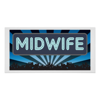 Midwife Marquee Posters