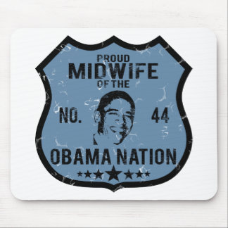 Midwife Obama Nation Mouse Pad