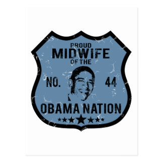 Midwife Obama Nation Postcard