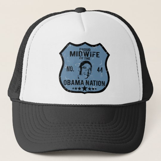 Midwife Obama Nation Trucker Hat