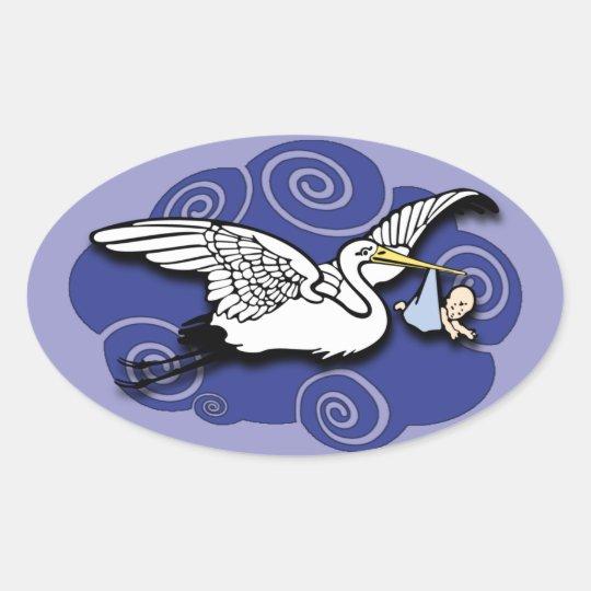 Midwife Oval Sticker