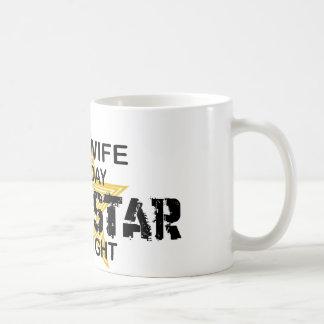 Midwife Rock Star by Night Coffee Mug
