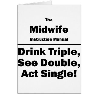 midwife stationery note card