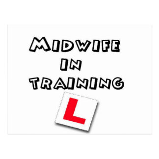 midwife training postcard