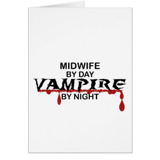 Midwife Vampire by Night Card