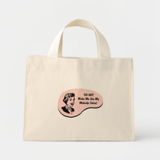 Midwife Voice Mini Tote Bag
