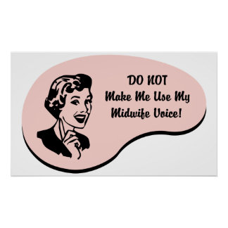 Midwife Voice Poster