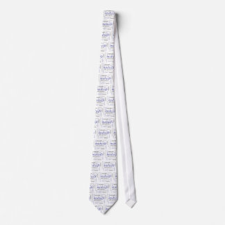 midwife word cloud neck tie