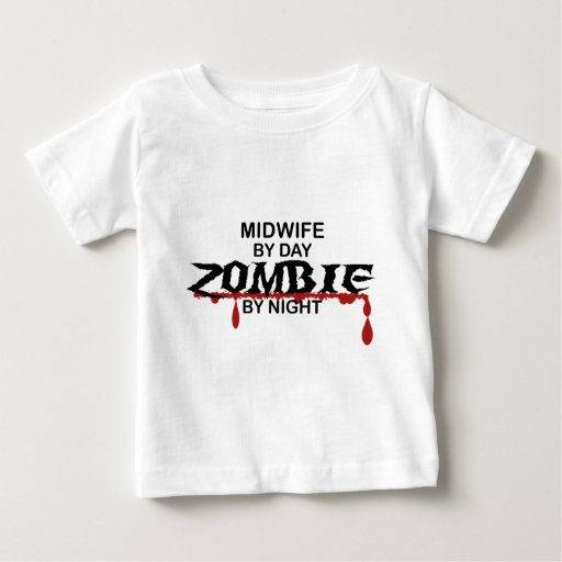Midwife Zombie Baby T-Shirt