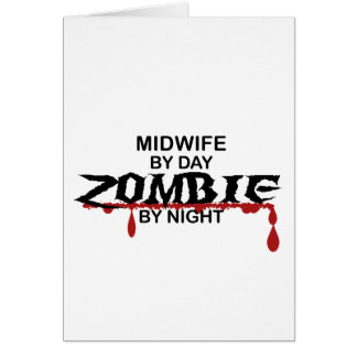Midwife Zombie Card