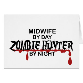 Midwife Zombie Hunter Card