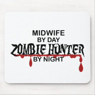 Midwife Zombie Hunter Mouse Pad