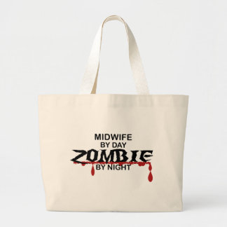 Midwife Zombie Large Tote Bag