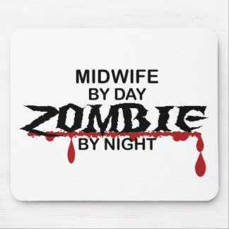 Midwife Zombie Mouse Pads