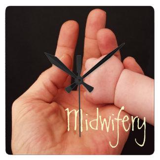 Midwifery Square Wallclock