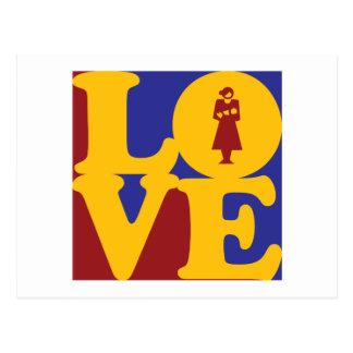 Midwifery Love Postcard