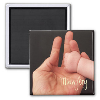Midwifery 2 Inch Square Magnet