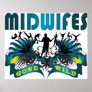 Midwifes Gone Wild Print