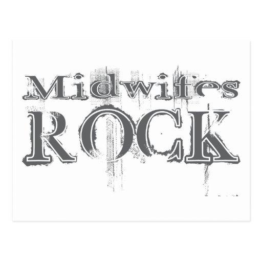 Midwifes Rock Postcard