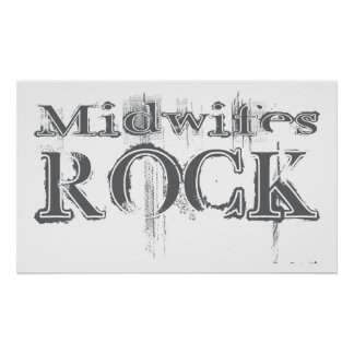 Midwifes Rock Poster