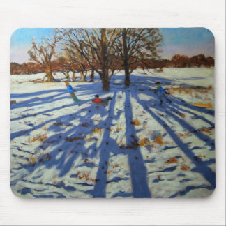 Midwinter Calke Abbey Derbyshire Mouse Pad