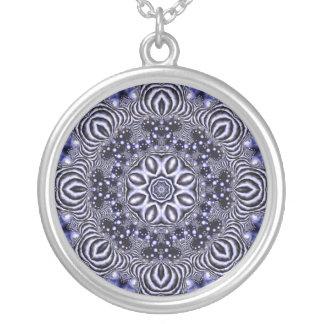 Midwinter Mandala / Midvintermandala Round Pendant Necklace