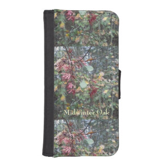 Midwinter Oak & Maple Botanical Natural iPhone 5 Wallets