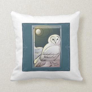 Midwinter's Night Owl Pillow