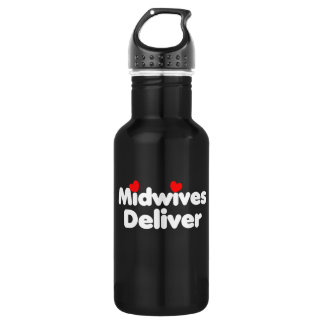 Midwives deliver stainless steel water bottle