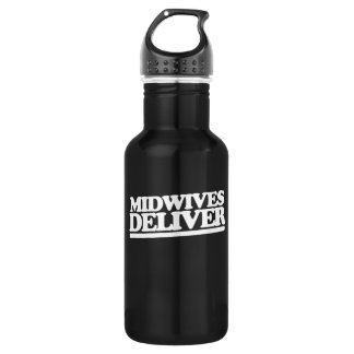 Midwives deliver water bottle