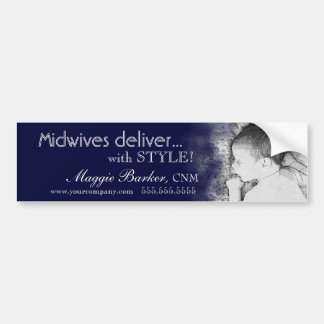 Midwives Deliver with STYLE Bumper Stickers