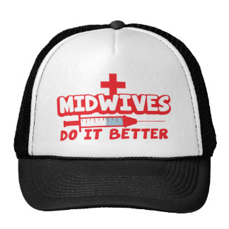 MIDWIVES do it better Trucker Hat