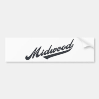 Midwood Car Bumper Sticker
