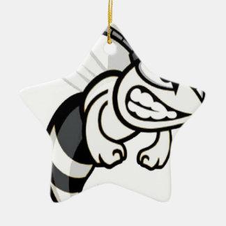 Midwood High School Hornets Christmas Tree Ornament
