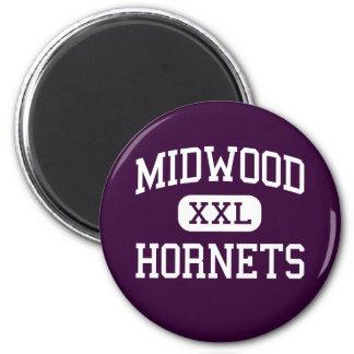 Midwood - Hornets - High - Brooklyn New York Fridge Magnet
