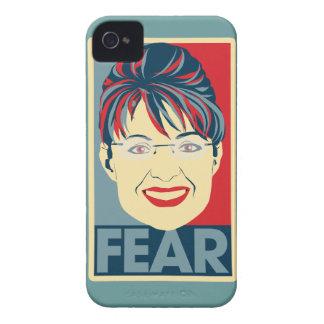 Miedo anti Pardoy de Sarah Palin Case-Mate iPhone 4 Carcasa