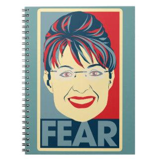 Miedo anti Pardoy de Sarah Palin Libreta