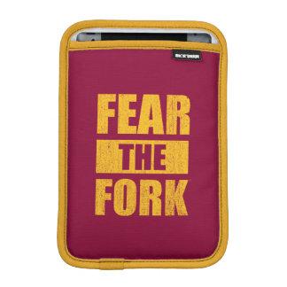 Miedo de ASU la bifurcación el   apenado Fundas Para iPad Mini
