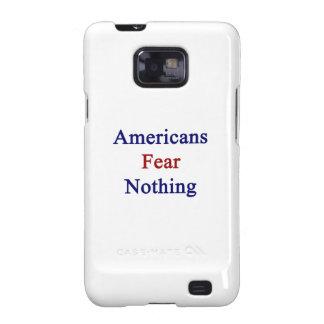 Miedo de los americanos nada samsung galaxy SII carcasas