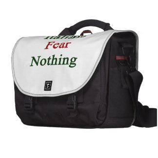 Miedo de los italianos nada bolsas para portatil