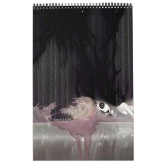 miedo de sombras calendario