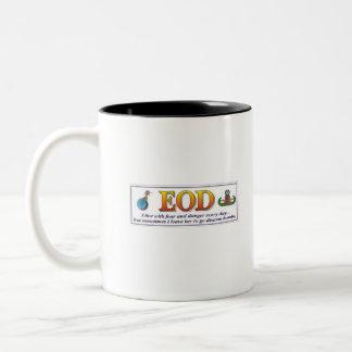 Miedo del EOD Taza De Café