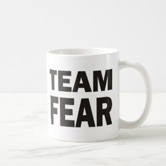 Miedo del equipo taza