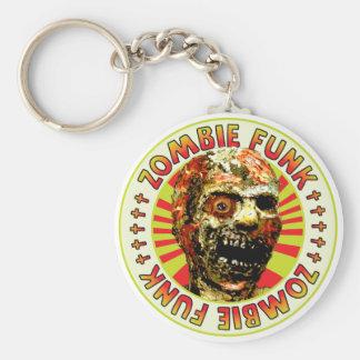 Miedo del zombi llaveros personalizados