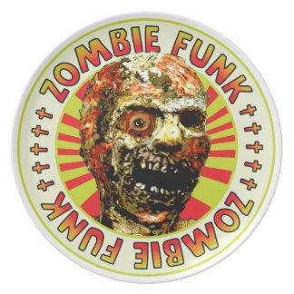 Miedo del zombi platos