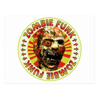 Miedo del zombi tarjetas postales