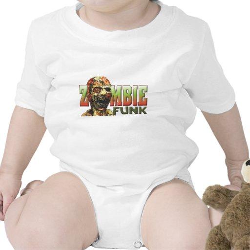 Miedo del zombi traje de bebé