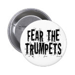 Miedo divertido el regalo de las trompetas pins