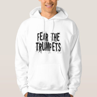 Miedo divertido el regalo de las trompetas sudadera
