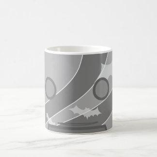 Miedo monocromático taza de café